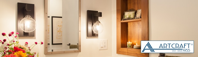 Vanity Lights - Bathroom Fixtures - Lighting Fixtures | Thomson Premier Lighting & Appliance