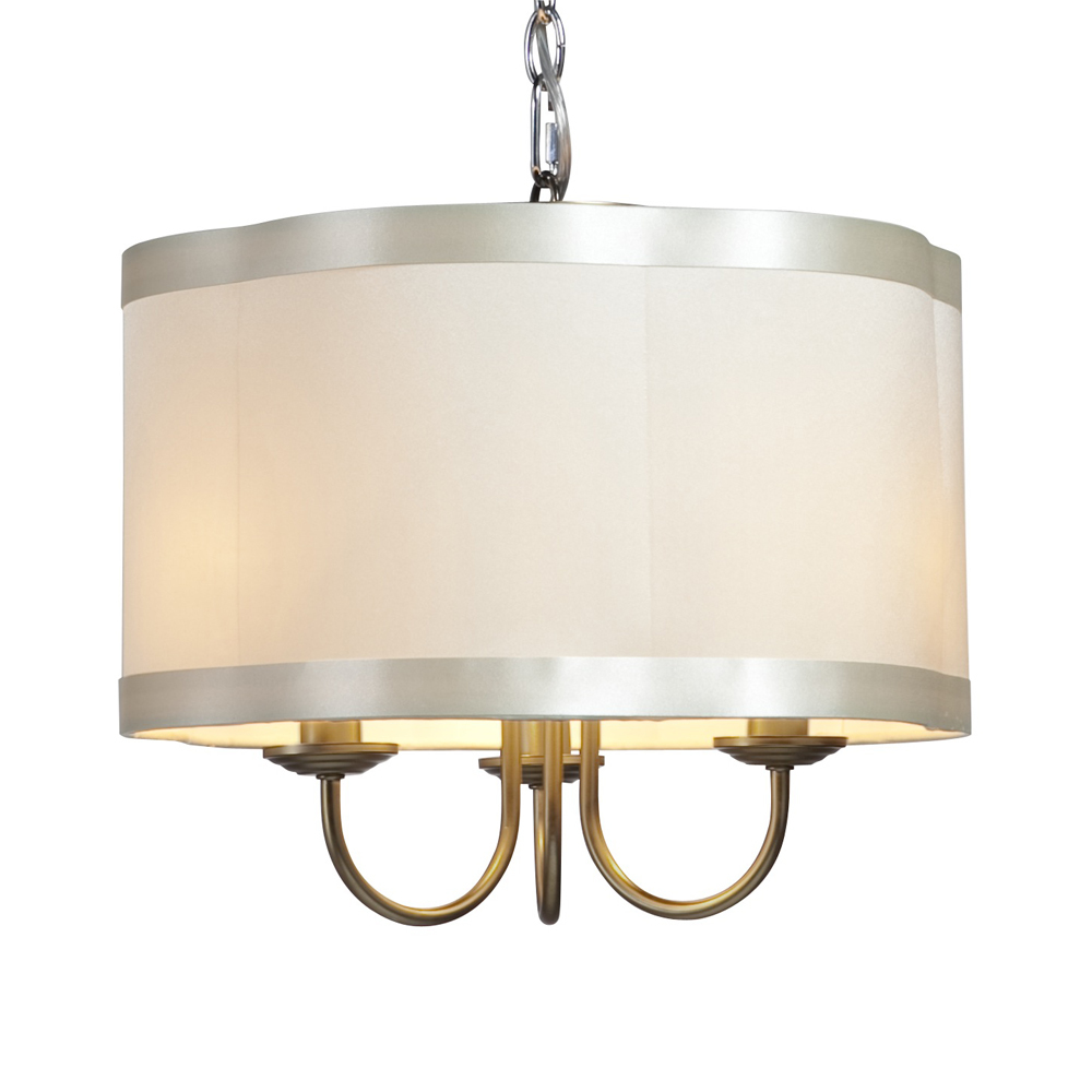 Lighting Drum Shade Chandelier