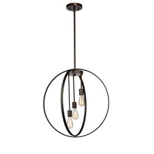 Artcraft AC10883OB - Newport AC10883OB 3 Light Chandelier