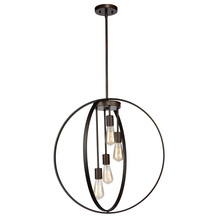 Artcraft AC10884OB - Newport AC10884OB 4 Light Chandelier