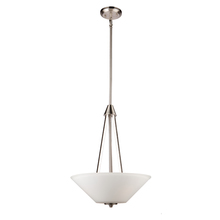Artcraft AC10913BN - Clayton AC10913BN 3 Light Chandelier