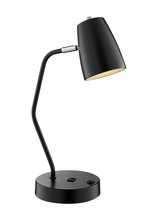 Lite Source Inc. LS-23120BLK - Ronnie Desk Lamps