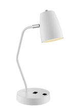 Lite Source Inc. LS-23120WHT - Ronnie Desk Lamps