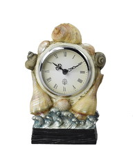 CAL Lighting TA-934CLK - SEA SHELL CLOCK