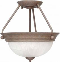 Volume Lighting V7762-22 - Marti 2-light Prairie Rock Semi-Flush Ceiling Mount