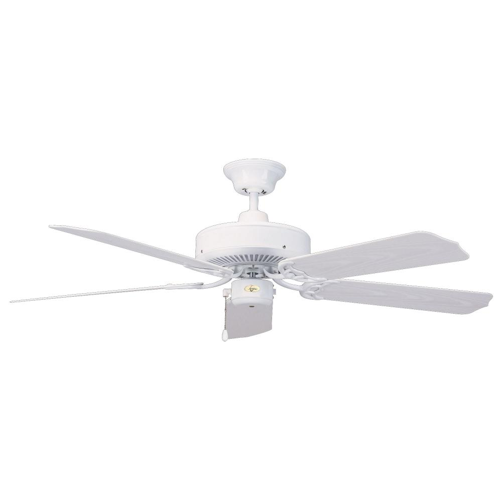 Concord By Luminance 44 Inch Nautika Outdoor Ceiling Fan - White