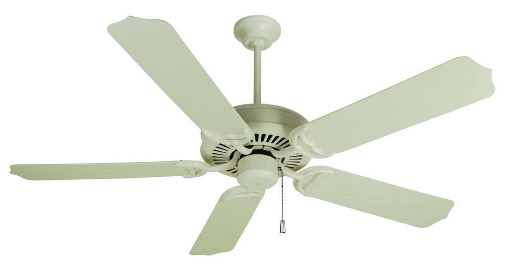 "Porch Fan 52"" Ceiling Fan Kit in Antique White"