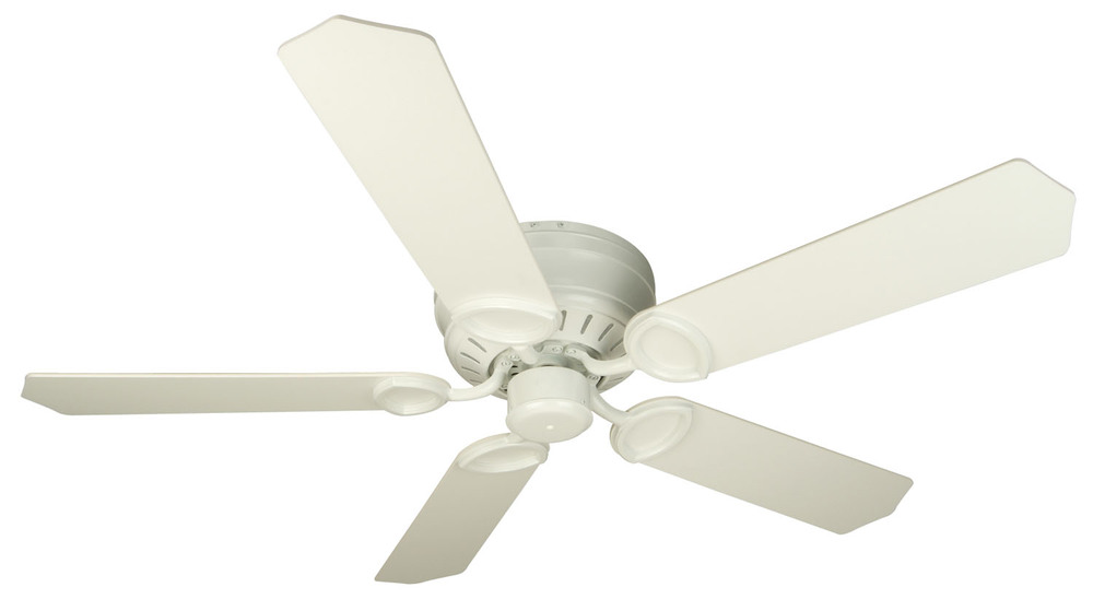 "Pro Universal Hugger 52"" Ceiling Fan Kit in White"