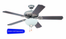 "Craftmade CCU52AO - Cecilia Unipack 52"" Ceiling Fan with Light in Athenian Obol (Blades Sold Separately)"