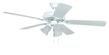 "Craftmade DCF52MWW5C3 - Decorator's Choice with 3-light Kit 52"" Ceiling Fan with Blades and Light in Matte White"