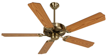 "Craftmade K10620 - Pro Builder 52"" Ceiling Fan Kit in Antique Brass"