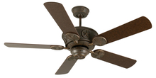 "Craftmade K10871 - Chaparral 52"" Ceiling Fan Kit in Aged Bronze Textured"