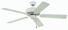 "Craftmade K11133 - Pro Builder 52"" Ceiling Fan Kit in Antique White"
