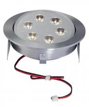 Alico WLE223C32K-0-98 - Tiro 6 Light LED Downlight In Brushed Aluminum