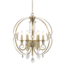 Golden 1323-6 WG - 6 Light Chandelier