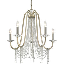Golden 1425-5 WG - 5 light chandelier