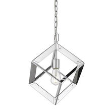 Golden 2083-M1L CH - Architect Mini Pendant in Chrome
