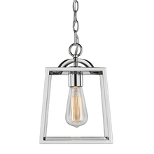Golden 3074-1P CH - Athena Mini Pendant in Chrome