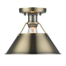Golden 3306-FM AB-AB - Flush Mount