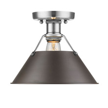 Golden 3306-FM PW-RBZ - Flush Mount