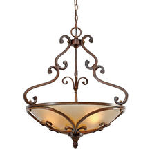 Golden 4002-3P RSB - 3 Light Pendant