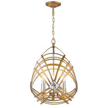 Golden 5717-4P RGD - 4 Light Pendant