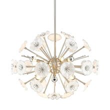 Golden 5933-6P PW - 6 Light Pendant