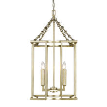 Golden 7151-4P WG - 4 Light Pendant