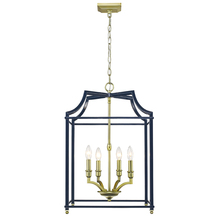 Golden 8401-4P SB-NVY - 4 Light Pendant