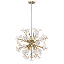 Golden 9858-8P WG - 8 Light Pendant