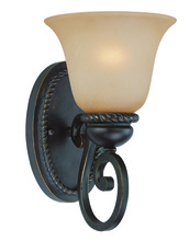 Jeremiah 25201-MB - Highland Place 1 Light Wall Sconce in Mocha Bronze
