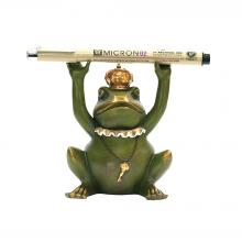 Sterling Industries 7-8198 - Superior Frog Gatekeeper Pen Holder
