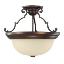 Capital 2747BB - 3 Light Semi-Flush