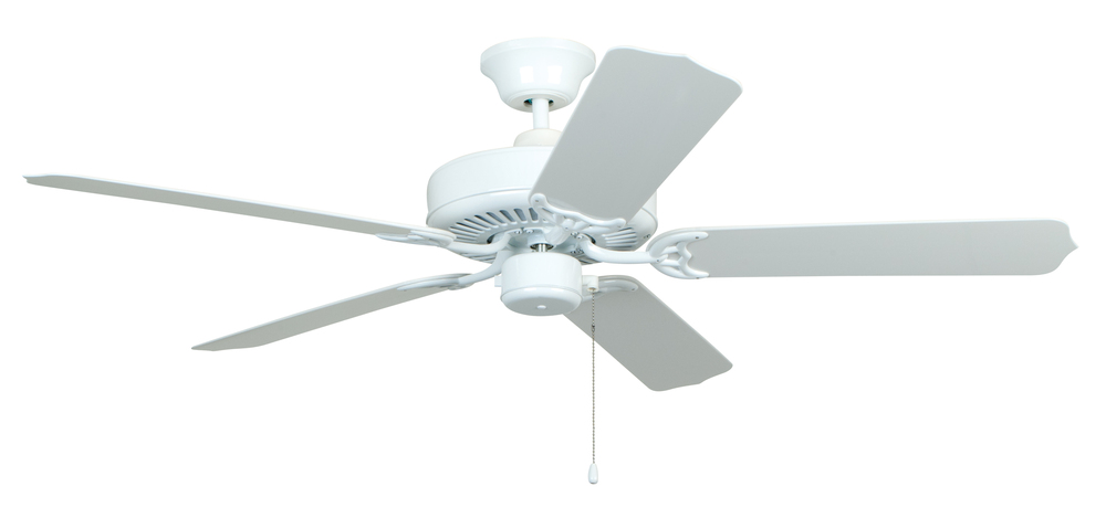 "All-Weather 52"" Ceiling Fan with Blades in White"