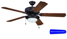"Ellington Fan E209ABZ - Pro Builder 209 52"" Ceiling Fan with Light in Aged Bronze Brushed (Blades Sold Separately)"
