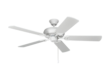 "Ellington Fan DCF52MWW5 - Decorator's Choice 52"" Ceiling Fan with Blades in Matte White"