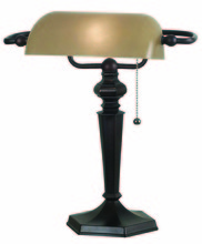 Kenroy Home 20610ORB - Chesapeake Banker Lamp