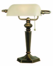 Kenroy Home 20615GBRZ - Mackinley Banker Lamp