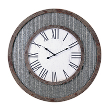 Kenroy Home 65076GAL - Wall Clock