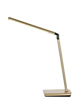 Elegant LEDDS002 - Illumen Collection 1-Light champagne gold Finish LED Desk Lamp
