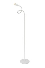 Elegant LEDFL001 - Illumen Collection 1-Light glossy frosted white Finish LED Desk Lamp