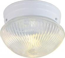 "Nuvo SF76/251 - 1 Light 8"" Mushroom Flush"